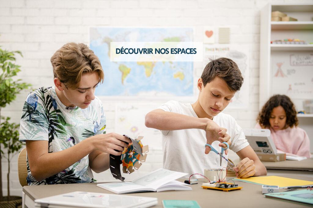 découvrez nos espaces
